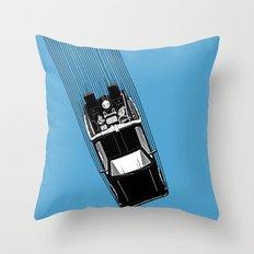 Back To The Future - DeLorean Throw Pillow