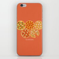 Olympizza iPhone & iPod Skin