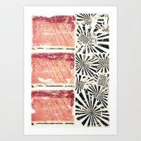 RETRO 4 Art Print