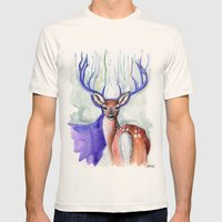 Trust Me, My Deer Mens Fitted Tee Natural SMALL