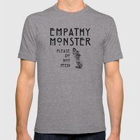 monster Mens Fitted Tee Athletic Grey SMALL