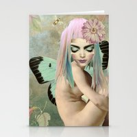 sweet whispers Stationery Cards