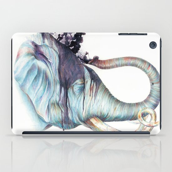 Elephant Shower iPad Case