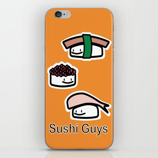Sushi Guys iPhone & iPod Skin