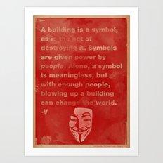 The Power of Symbols, Art Print