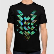 Tri Punch Fitted Mens Fitted Tee Black SMALL