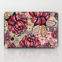 Roses and cherry blossom pattern iPad Case