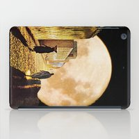 Walking at the moonlight iPad Case