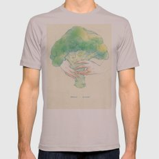 Broccoli bouquet Mens Fitted Tee Cinder SMALL
