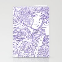 Iris Knight Lines Stationery Cards