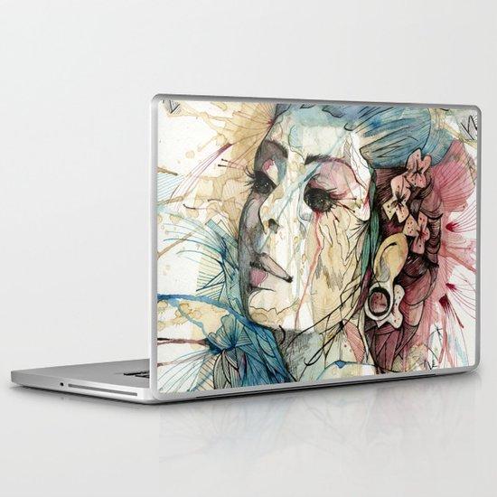Lady | Natural Fashion Laptop & iPad Skin