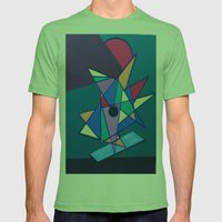 pattern art Mens Fitted Tee Grass SMALL