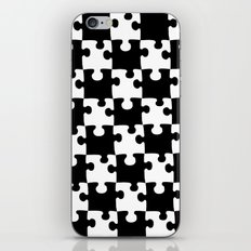 Checkerboard Puzzle Pieces iPhone & iPod Skin