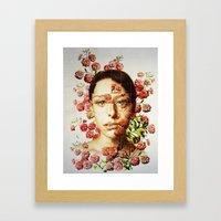 Face #1 Framed Art Print