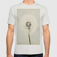 Dandelion Dreams  Mens Fitted Tee Silver SMALL