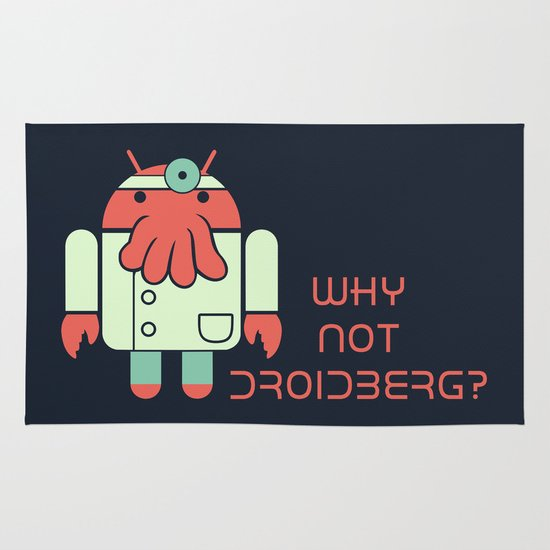 Why not Droidberg Area & Throw Rug