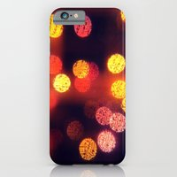 Orange Lights iPhone 6 Slim Case