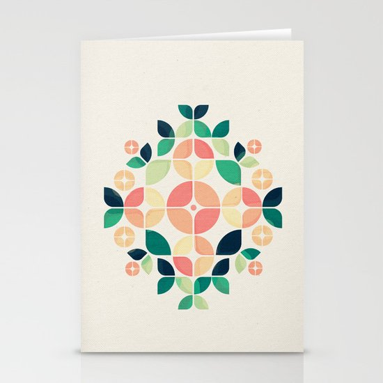 The Bouquet Stationery Card