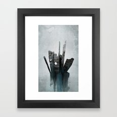 Pathfinder - Experimental Framed Art Print