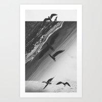 Fractions 13 Art Print