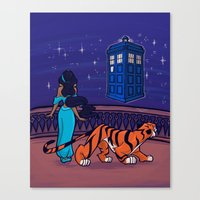 I Can Show You The Unive… Canvas Print