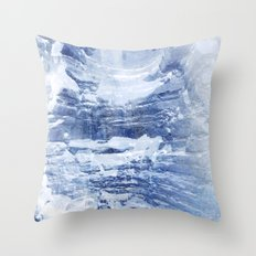 Ice Scape 2 Throw Pillow