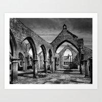 Thomas aBeckett Ruins, Heptonstall Art Print