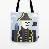 Dead Men Tell No Tales Tote Bag