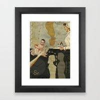 Modern Day Practice Framed Art Print