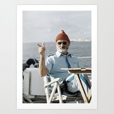 LIFE AQUATIC Art Print