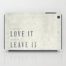 If you don't love it… A PSA for stressed creatives. iPad Case