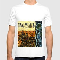 Flodsam 8 Mens Fitted Tee White SMALL