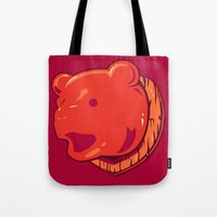 Bear prize Tote Bag