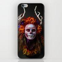 Autumn Muertita Front iPhone & iPod Skin