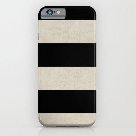 vintage black stripes iPhone & iPod Case