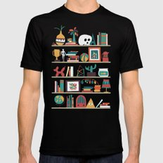 The shelf Black Mens Fitted Tee SMALL