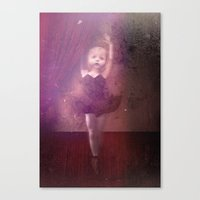 putting the damage on Canvas Print