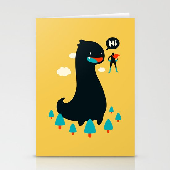 Safe from Harm Stationery Card