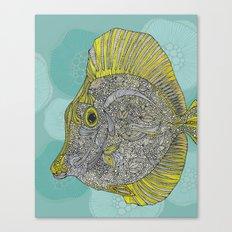 Hello Yellow Canvas Print