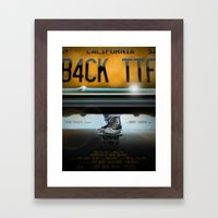 Back To The Future- All Star Framed Art Print