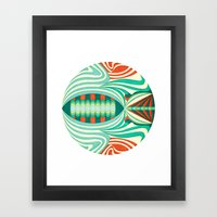 The Only Fish In The Sea Framed Art Print