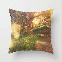 Oak Trail Throw Pillow
