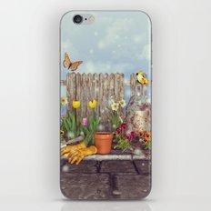 Spring Gardening iPhone & iPod Skin