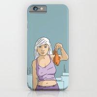 She's got fish! iPhone 6 Slim Case