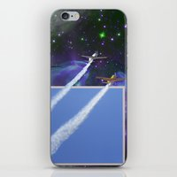 Beyond The Blue Yonder iPhone & iPod Skin