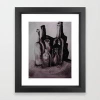 for laughs Framed Art Print