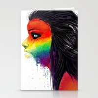 Rainbows Stationery Cards