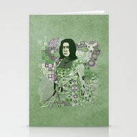 Portrait Of A Potions Ma… Stationery Cards