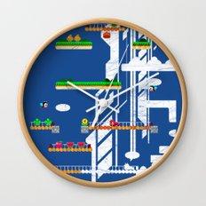 Rainbow Islands Wall Clock
