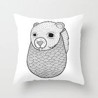 Mr. Rupel's Most Ingenuo… Throw Pillow